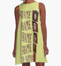 Shame! Bad Vampire! A-Line Dress