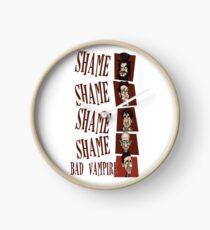 Shame! Bad Vampire! Clock