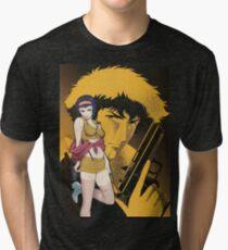 Cowboy Bebop Spike Spiegel And Faye Valentine Tri-blend T-Shirt