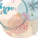 Ocean Blue Ink on Pastel by What-Katy-Loved