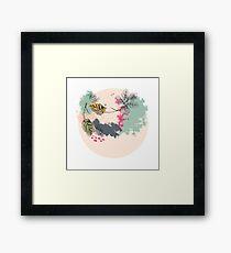 Seasonal Pastels Framed Print