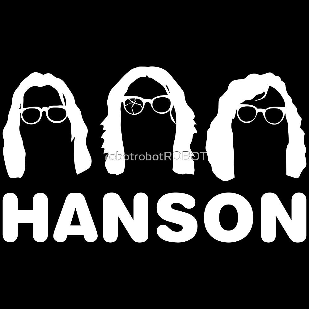 Slap Shot Hanson by robotrobotROBOT