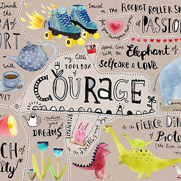 My little Toolbox of Courage by lillylotus