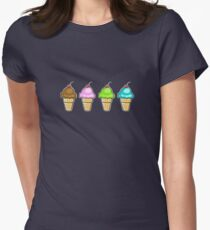 4 ice creams T-Shirt