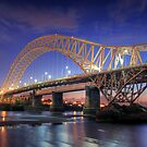 The bridge  by Jon Baxter