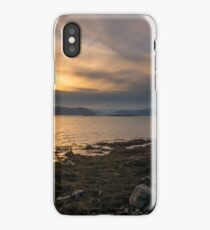 Goodnight Hofn, Southern Iceland iPhone Case/Skin