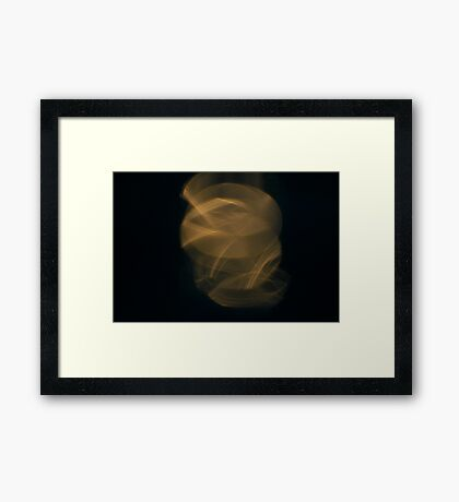 Light Play - Everyone Loves a Slinky Framed Print