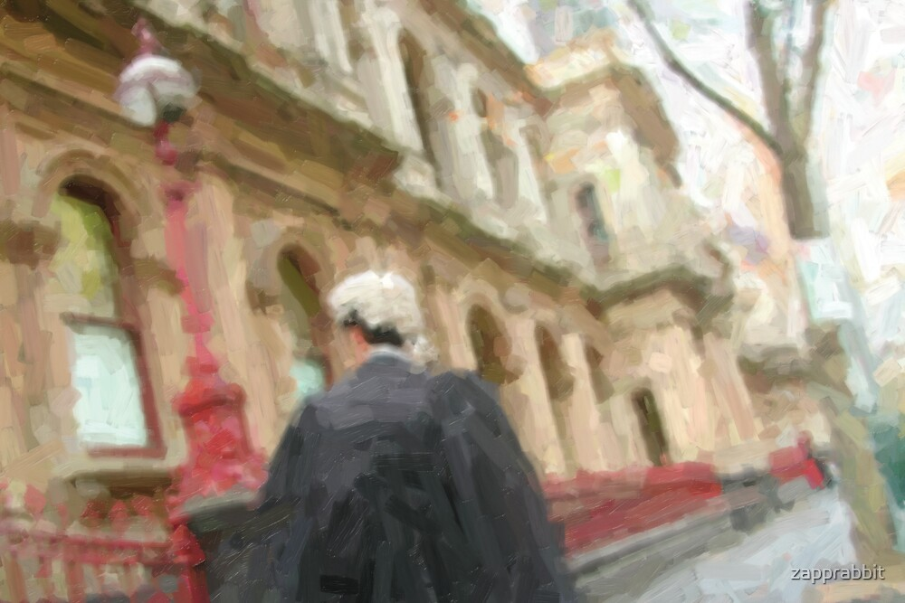 lawyer on the go! by zapprabbit