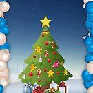 Christmas card by Ana Belaj