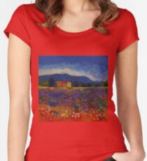 Provence Women's Fitted Scoop T-Shirt