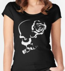 Skulls N' Roses Women's Fitted Scoop T-Shirt
