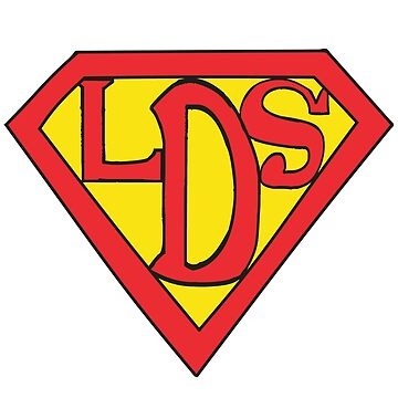 Super LDS (Red and Yellow) - LDStreetwear by LDStreetwear