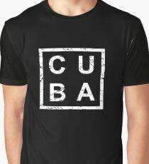 Stylish Cuba Graphic T-Shirt