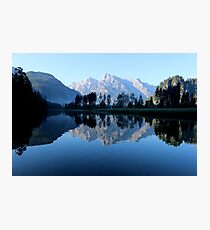 A mountain in Austria and a lake reflection Photographic Print