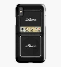 Guitar Amplifier iPhone Case (Marshall style) iPhone Case/Skin