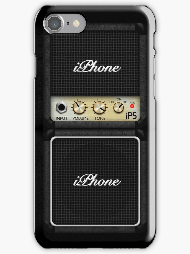 Guitar Amplifier iPhone Case (Marshall style) by abinning
