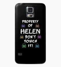 Property of Helen Case/Skin for Samsung Galaxy