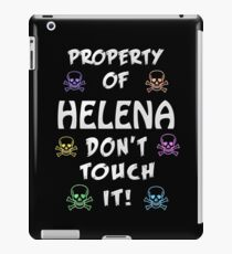 Property of Helena iPad Case/Skin