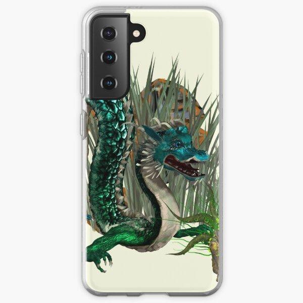 monster dragon Samsung Galaxy Soft Case
