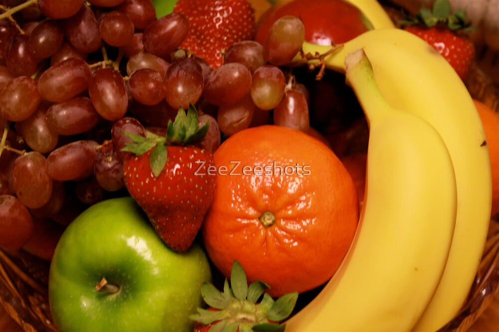 Fresh Fruits by ZeeZeeshots