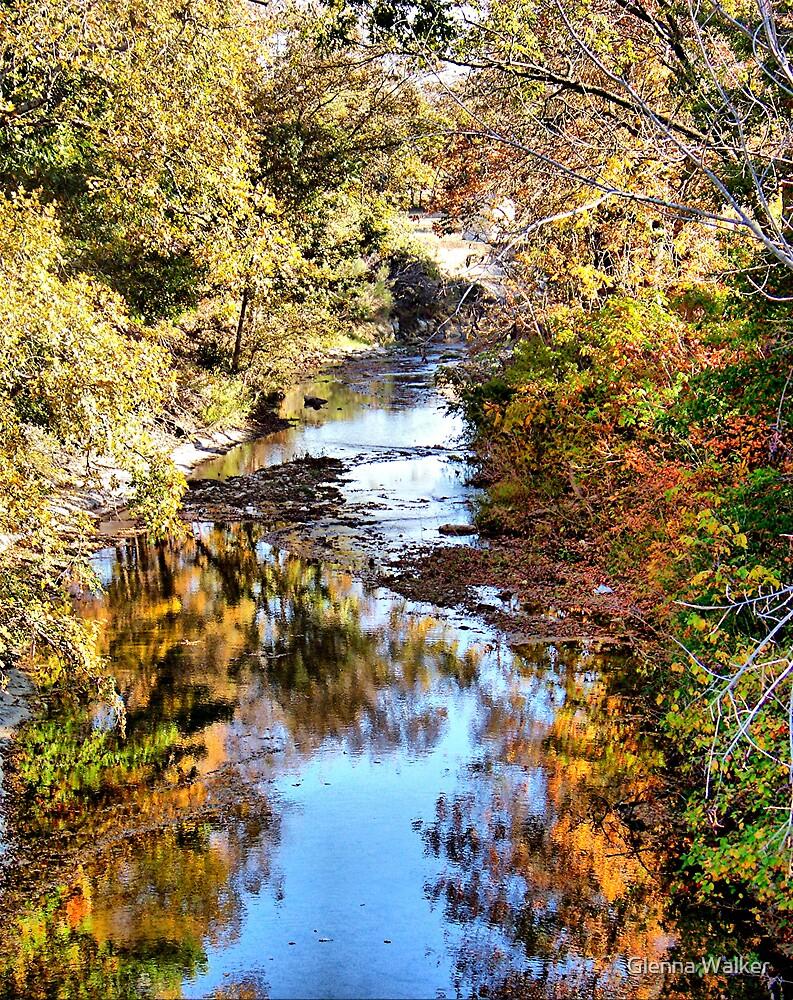 Red Oak Creek by Glenna Walker