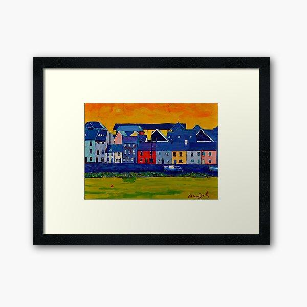 The Long Walk, Galway, Ireland (2016) Framed Art Print