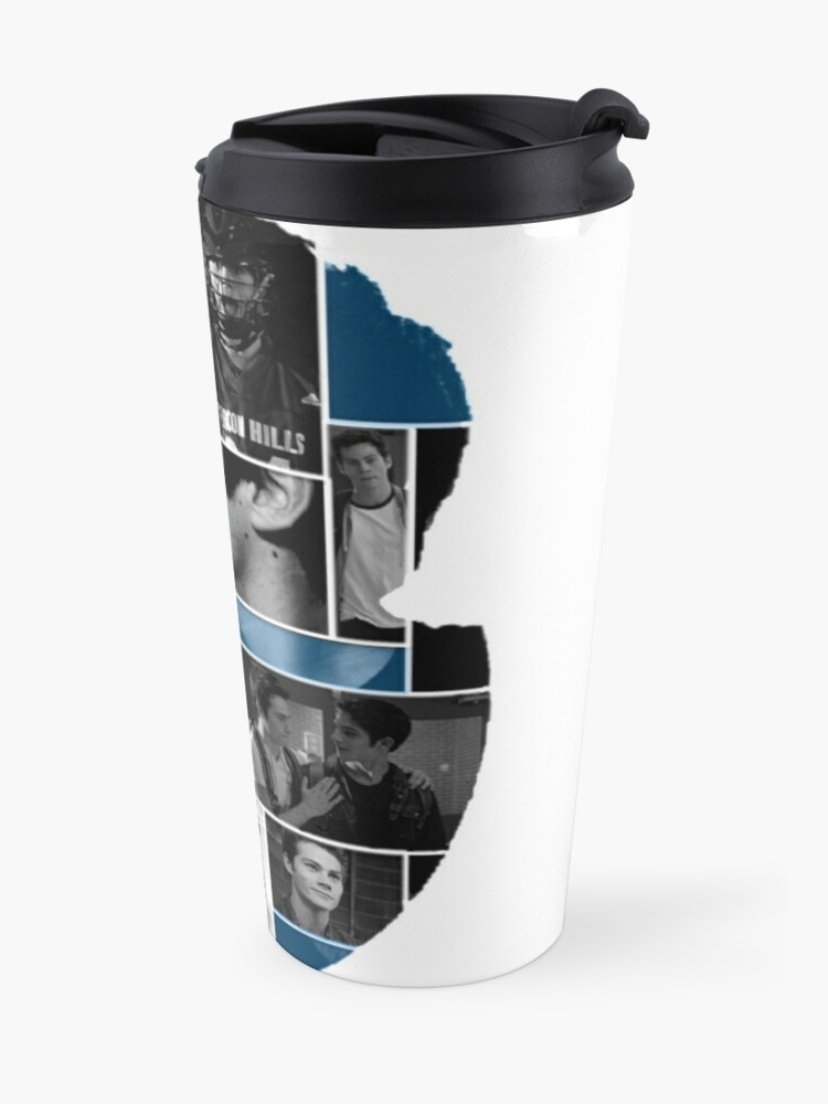 Alternate view of Dylan O'Brien Squares Travel Mug