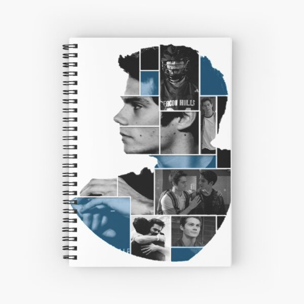 Dylan O'Brien Squares Spiral Notebook