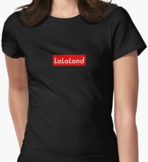 LaLaLand Su prem Women's Fitted T-Shirt