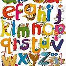 Alphabet by Roland Harvey