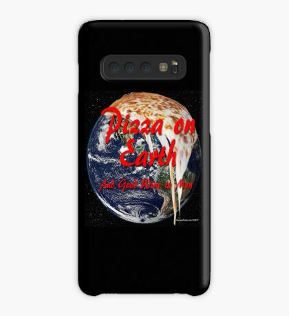 Pizza On Earth Case/Skin for Samsung Galaxy