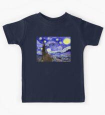 The Starry Night Kids Tee