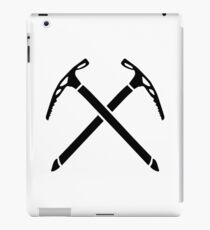 Ice climbing picks axe iPad Case/Skin