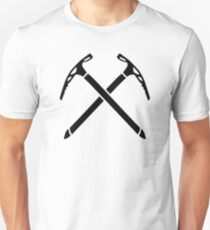 Ice climbing picks axe T-Shirt