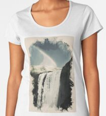 Heaven on Earth Waterfall Series , No 3 Women's Premium T-Shirt
