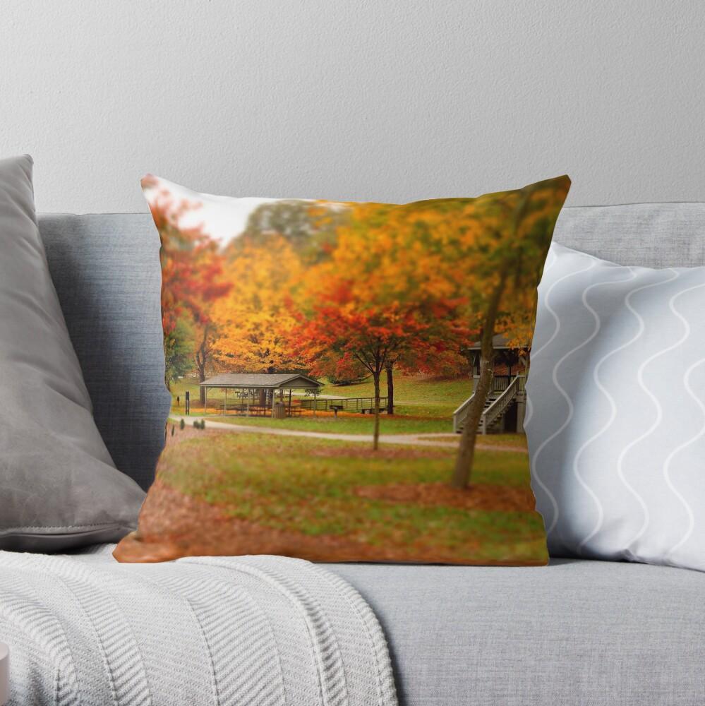 Lineberger Park 2 Throw Pillow