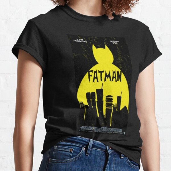 Fatman, the fried food avenger Classic T-Shirt