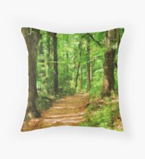 The Georgia Woodlands Throw Pillow