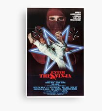 Enter the Ninja Canvas Print