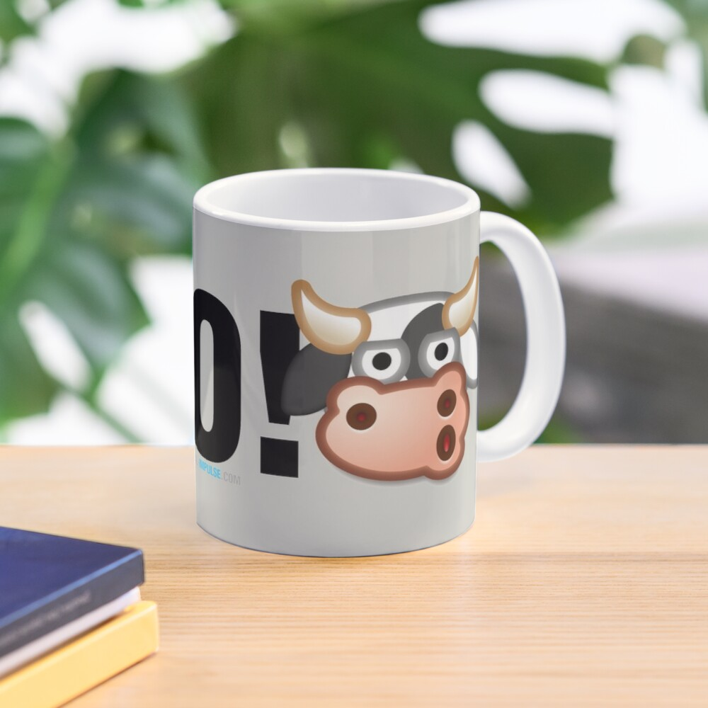 MOO! (Text) Mug