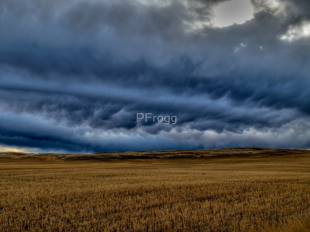 The Threat of Winter { back bone of the storm } by PFrogg