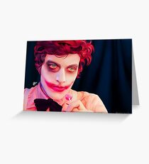 KickThePj as Wiggles the clown Greeting Card