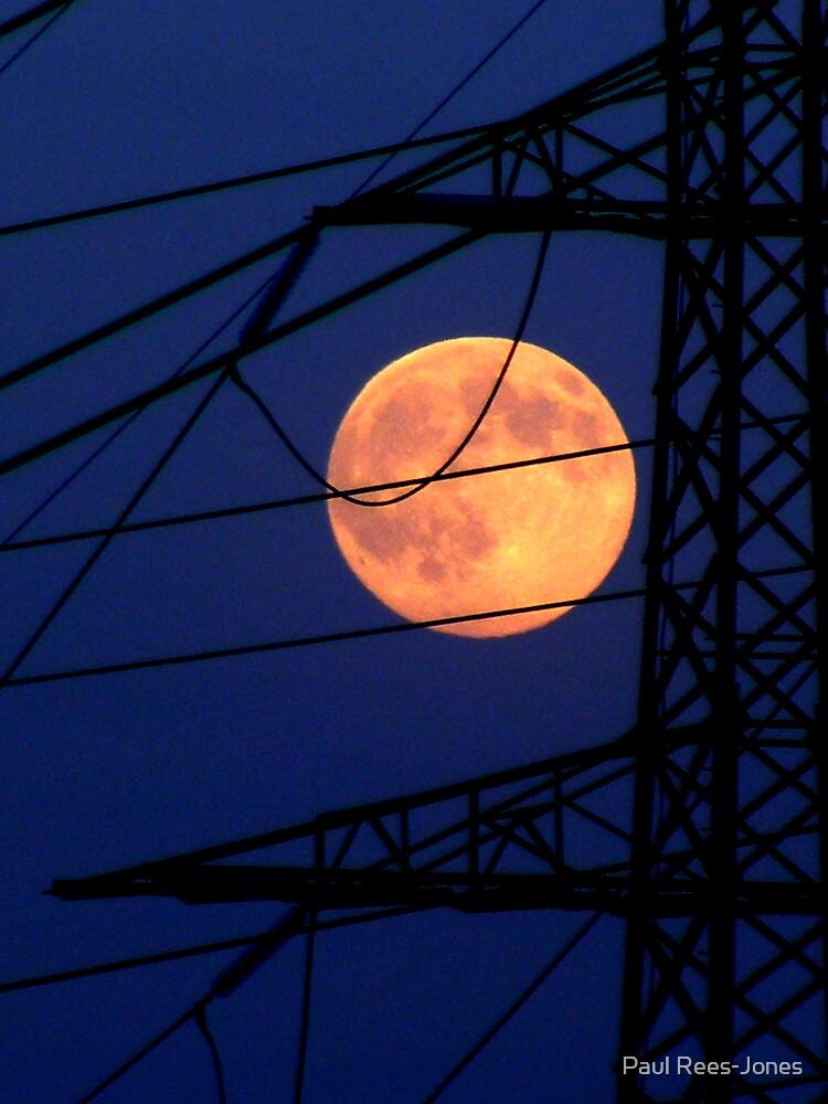 Man and Moon. by Paul Rees-Jones