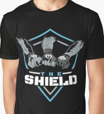 The Shield Blue-White [Available in 10 colors] Graphic T-Shirt