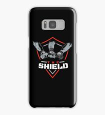 The Shield Red-White [Available in 10 colors] Samsung Galaxy Case/Skin