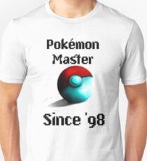 Pokémon Master Since '98 T-Shirt
