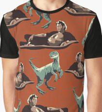 Camiseta gráfica Genios jurásicos