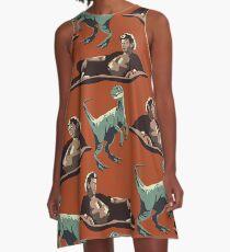 Jurassic Geniuses  A-Line Dress