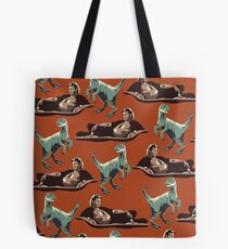 Jurassic Geniuses  Tote Bag