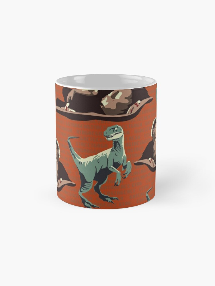 Alternate view of Jurassic Geniuses  Mug